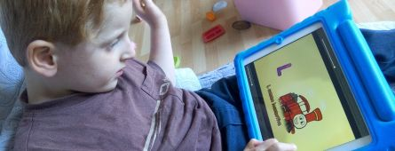 Communication alternative et Ipad dans le syndrome d'Angelman