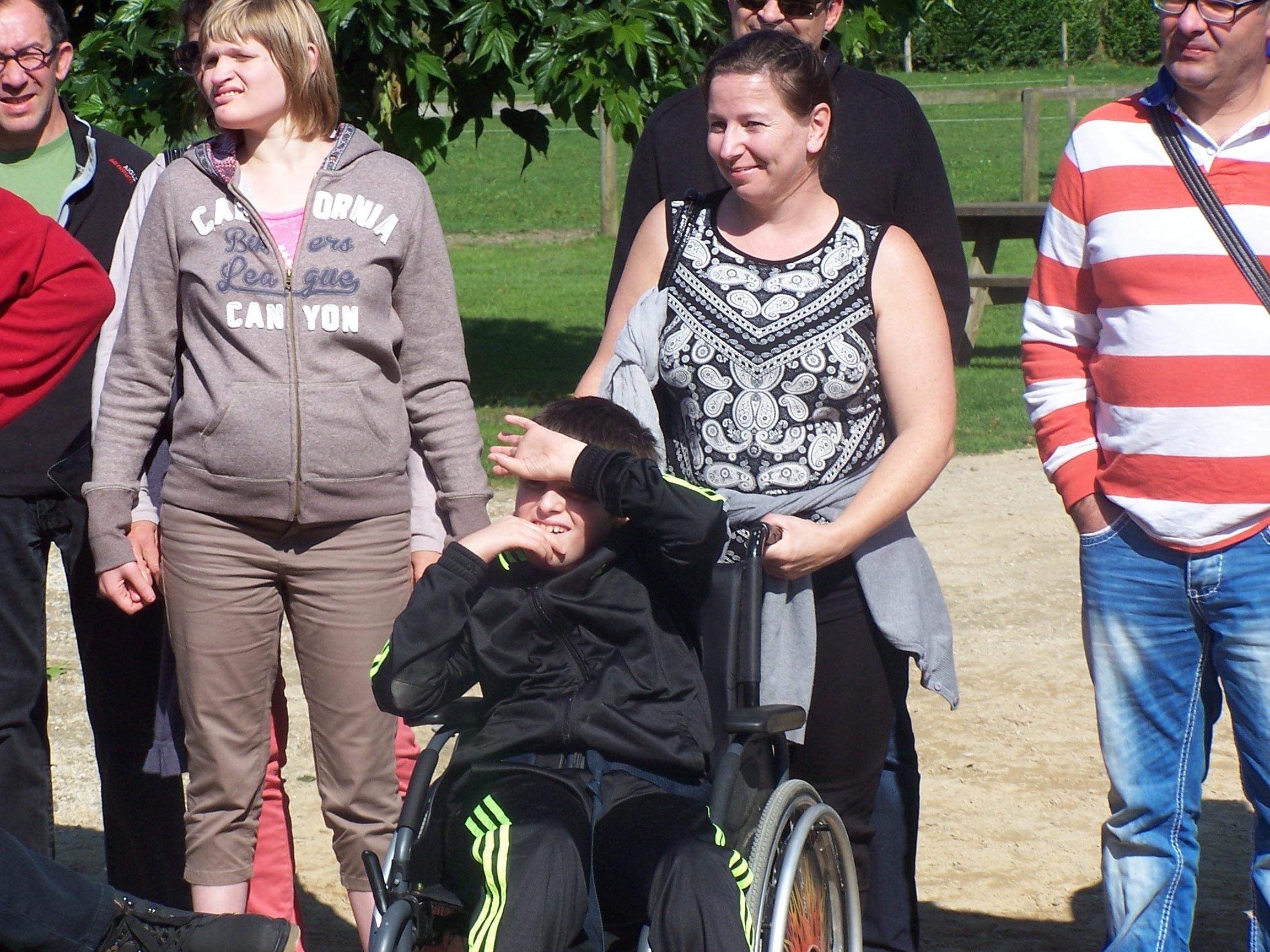 Rencontres entre handicapes et valides