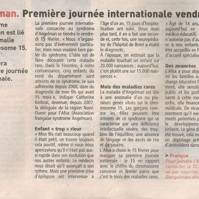 Articles Journée Internationale 2013