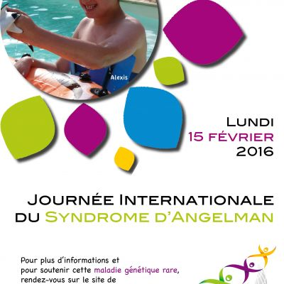 Affiches Journée Internationale du Syndrome d'Angelman 2016