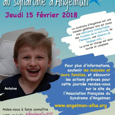 Journée Internationale du Syndrome d'Angelman 2018